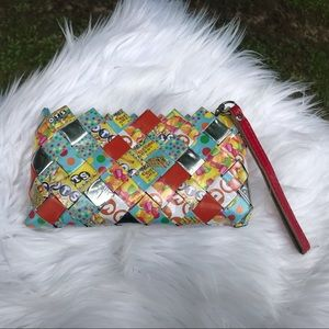 Nahui Ollin Candy Wrapper Wristlet